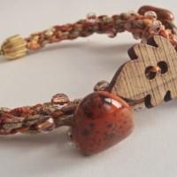 Apple Harvest Braided Bracelet