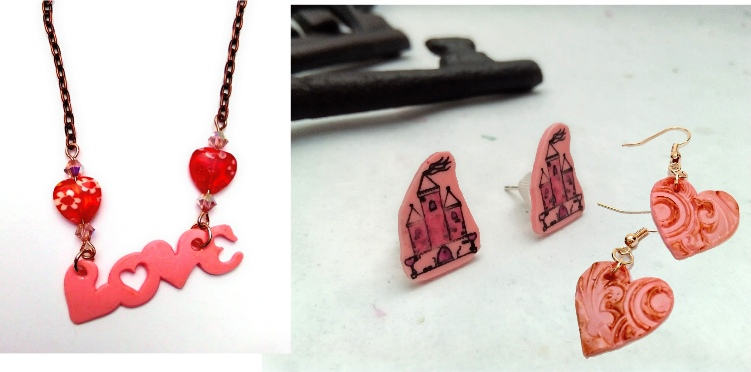 Shrink plastic jewellery for fun, unusual and quirky pieces of wearable art!