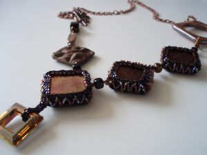 Glass Lava Necklace from Making Jewellery magazine